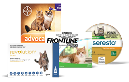 Shop for Flea and Tick products for cats