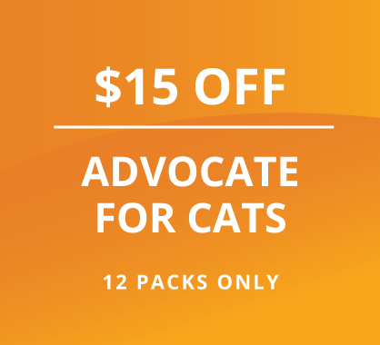 $15 Off Advocate for Cats
