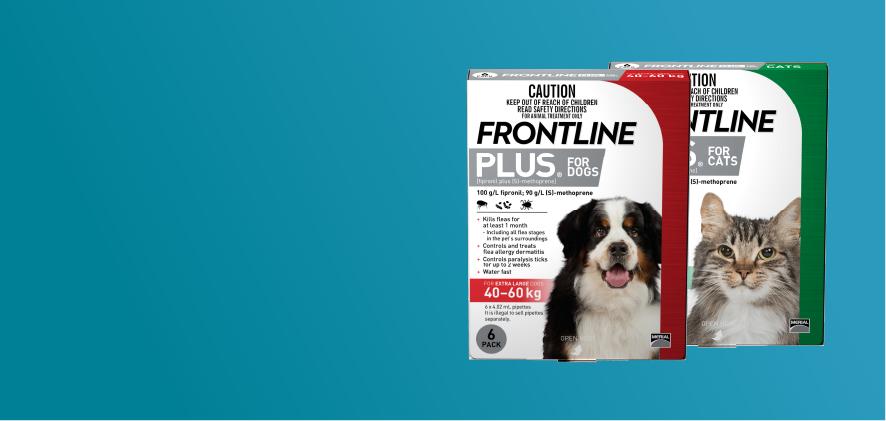 3 Free Doses Frontline Plus 6 packs