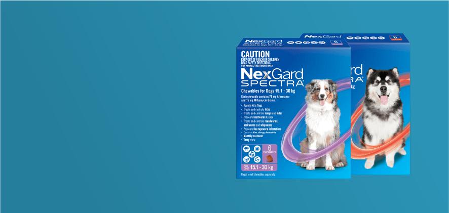 10% Off NexGard Spectra 6 packs