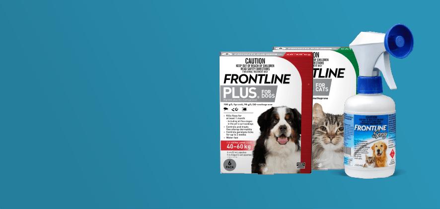 20% Off Frontline Plus 6 & 12 packs/Sprays