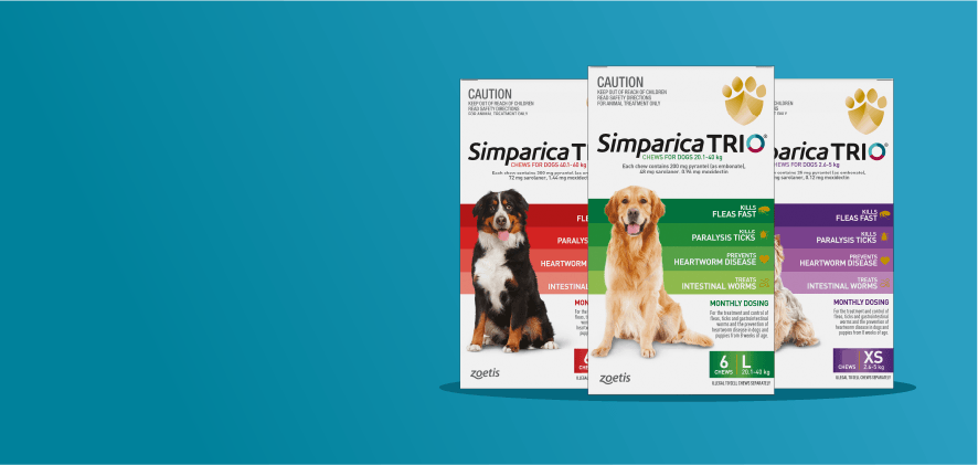 20% Off Simparica Trio 6 packs